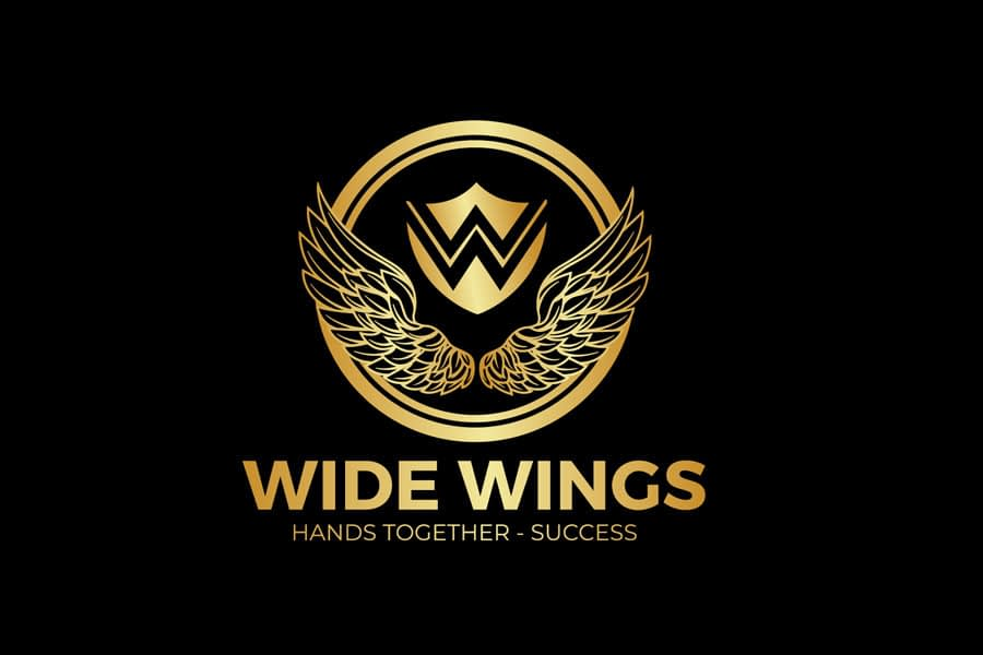 Wide wings