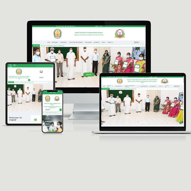 website development mock-up images