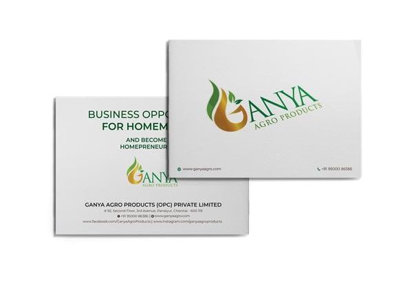 Ganya Agro Brochure Front